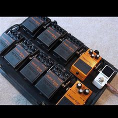 Pedalboard goals v1.  #pedalboard #Geartalk #guitarfx #knowyourtone #guitarpedals #stompbox   Create your custom string set today at Stringjoy.com #guitar #guitars #electric #acoustic #bassguitar