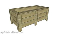 Large Planter Plans   Free Outdoor Plans - DIY Shed, Wooden Playhouse, Bbq, Woodworking Projects