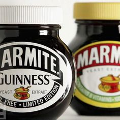 Guinness and Marmite