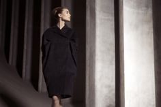 Elizabeth Coat Fall Winter, Autumn, Normcore, High Neck Dress, Coat, Dresses, Style, Fashion, Swag