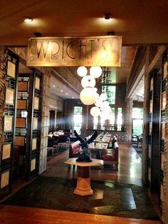 Wright's Restaurant at Arizona Biltmore  http://carlosmeliablog.com/wrights-restaurant-at-arizona-biltmore/