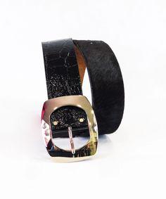 Ζώνη Φαρδιά Πόνι και Δέρμα | Vaya Fashion Boutique Smart Watch, Fashion, Moda, Smartwatch, Fashion Styles, Fashion Illustrations