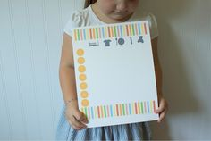 Since I'm a list maker at heart, I love the idea of a chore chart to help keep children on track in regards to their daily chores. The pr...