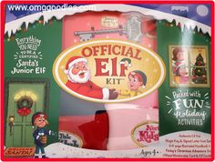 #OMGSweeps #HarvestHOP - Review: When Finely and Cooper designed the Official Elf Kit and started the North Pole Kids' Club, Santa ho' ho' ho'ed in delight.