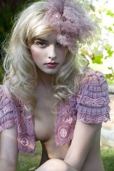 Blonde Beauty in Pink! ♥