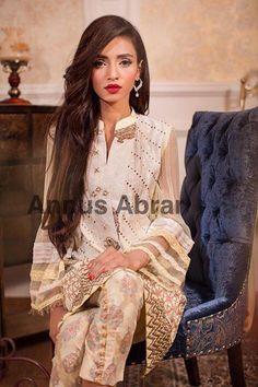 Annus Abrar Floralesque Luxury Pret 2015 Eid-ul-Azha Embroidered Wear Collection (6)