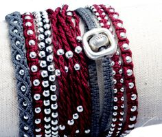 Karen Tribe Neo Macrame Bracelet