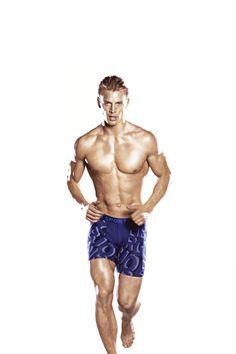 trashyprinces: Thor Bülow for Björn Borg. Sexy Gay Men, Hot Hunks, Straight Guys, Tonne, Shirtless Men, Running Man, Men Online, Nice Body, Pretty Boys