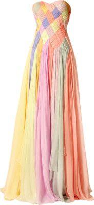 Weaving weaving weaving... a little modification & it would make a cute Renfaire dress