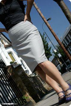 Drafting a skirt block