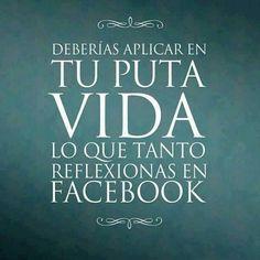 Una reflexión sobre FaceBook y la vida.