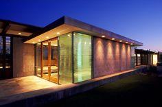 Textured glass windows