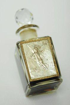 Fleurs de Amour, vintage Baccarat crystal perfume bottle.