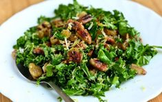 This salad is a good way of incorporating healthy food in your daily diet plan. It is crunchy and chewy owing to pecan nuts and raisins. Kale adds freshness to the salad. Pecan nuts are high in fiber and omega…