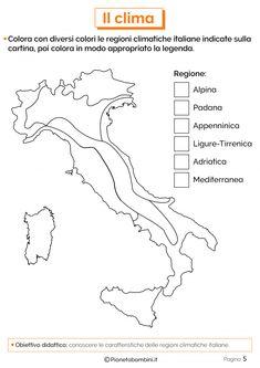Italia Climatica Cartina.110 Idee Su Geografia 4 Attivita Geografia Geografia L Insegnamento Della Geografia
