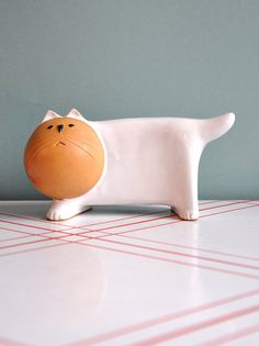 Ceramic Cat Bank, $22 Just bought this!  Same bank given to me when I was born that's now lost.  Happy!