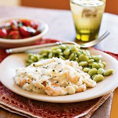 Shrimp and Grits Casserole Recipe by NAPLESNANCY via @SparkPeople