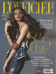 6fdb850fd3fec Marina Nery  L Officiel Brasil - L Officiel Brazil June 2012 Cover by  Paschoal Rodriguez