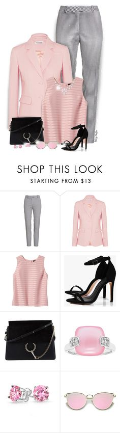 """Gingham Style"" by mcheffer ❤ liked on Polyvore featuring Altuzarra, Banana Republic, Boohoo, Chloé, Bling Jewelry, Humble Chic and gingham"