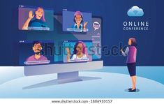 Wifi Icon, Window Screens, Working People, Young People, Techno, Illustration, Conference, Family Guy, Language