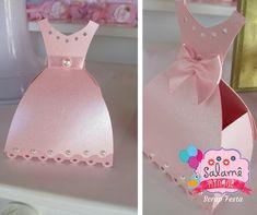 Caixa Vestido Princesa