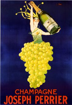 """love vintage art. i have a copy of this and the cognac monnet hanging above my vintage cart """"mini bar."""""""