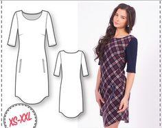 Dress Patterns Simple Dress Pattern by DressyTalkPatterns