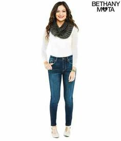 :):) Bethany Mota clothing line available at Aeropostal Winter Outfits, Casual Outfits, Cute Outfits, Fashion Outfits, Casual Ootd, Teen Fashion, Aeropostale, Lace Bodysuit Long Sleeve, Autumn Winter Fashion