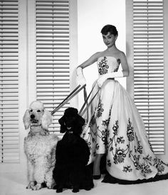 Audrey Hepburn in Hubert de Givenchy dress