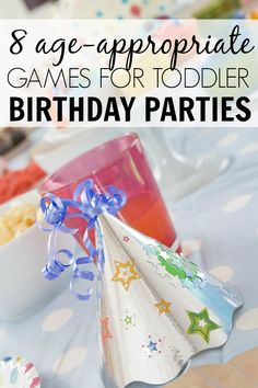 If you're throwing a birthday bash for the under-5 age set and looking for age-appropriate birthday games, this list of 8 fun and awesome games for toddler birthday parties is for you!