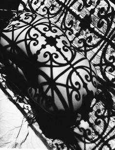 snowce: Fernand Fonssagrives, Negresco Balcony, model Lisa Fonssagrives, 1934