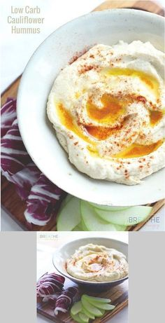 Low Carb Cauliflower Hummus