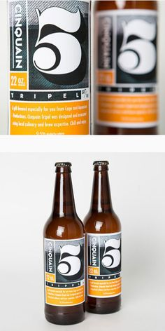 beer labels | Cinquain Tripel by Edit17