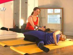 VIDEO : du Pilates anti cellulite – Diet Tips For Beginners Pilates Video, Le Pilates, Pilates Workout, Gym Workouts, Cardio, Joseph Pilates, Yoga Positions For Beginners, Pilates For Beginners, Pilates Training