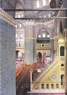 Yeni mosque interior, Istanbul