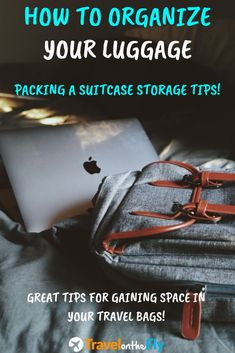 Are you traveling with a crammed luggage bag? Don't worry, it's a common thing. But there are many ways to eliminate this problem. You need some luggage organization tips! Use these storage ideas for your carry on bag to keep your luggage neat and tidy while saving space at the same time! #carryonluggage #luggageorganization #packasuitcase