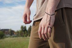 Black Yoty bracelet looking slick  Yotybracelets.com