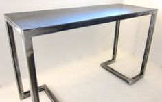 Alexander Desk/ Console // All metal frame table or desk // welded steel console // industrial design