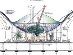 アトリウムのイメージ(資料:Renzo Piano Building Workshop/RPBW)