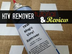 Magic Heat Transfer Vinyl Remover Review (Removing Glitter, Smooth, Printable,