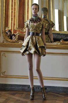 Alexander McQueen Fall 2010 Collection