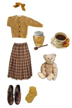 """Granny, Black tea, Honey"" by jaimelesplantes on Polyvore featuring mode, Étoile Isabel Marant, Chunk et vintage"