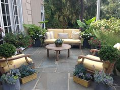 Back Patio and Landscaping by Willow Garden Design info@willowgardendesign.net (631) 885-3663