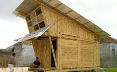IBUKU unveils modular bamboo homes for garbage collectors in Bali