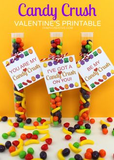 A Free Printable Candy Crush Valentine's Day Gift Tag  |  OHMY-CREATIVE.COM