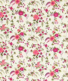 Liberty Art Fabrics Floribunda H Tana Lawn | Fabric by Liberty Art Fabrics | Liberty.co.uk