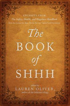 Portada Revelada:: The Book of Shhh de Lauren Oliver Image