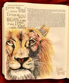 bible journal art