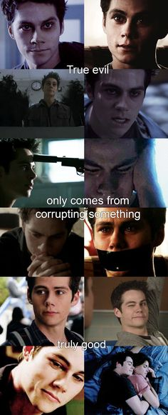 Teen wolf, Void true evil only comes from corrupting something truly good