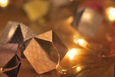 [DIY] Le Grand Bazaar: Guirlandes de cubes origami (tuto inside)